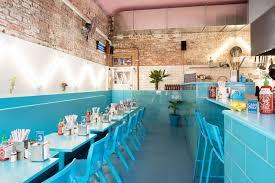 Contemporary Turquoise Blue Interior Decor