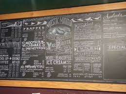 Beautiful Chalk Menu Board In Kingston, WA | **lettering / Layouts ...