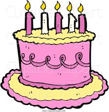 Blue birthday cake clipart Gclipart