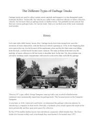 100 Types Of Garbage Trucks The Different Of By Ryan_williams Issuu
