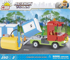 Septic Truck - Action Town - For Kids | Cobi Toys
