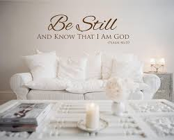 Amazing Religious Vinyl Wall Decals White Painting Stickers Christian Psalms Quote Bible Vinly