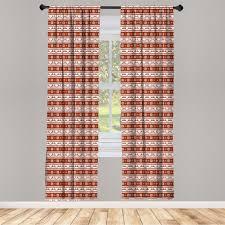 gardine fensterbehandlungen 2 panel set für wohnzimmer schlafzimmer dekor abakuhaus weihnachten skandinavisch kaufen otto
