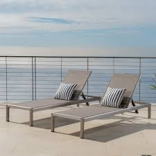 Shop Cape Coral Outdoor Aluminum Adjustable Chaise Lounge (Set Of 2 ... Giantex Outdoor Chaise Lounge Chair Recliner Cushioned Patio Garden Adjustable Sloungers Outsunny Recling Galleon Christopher Knight Home 294919 Lakeport Steel Back Shop Kinbor 2 Pcs Allweather Affordable Varietyoutdoor Pool Fniture Cosco Alinum Serene Ridge Bestchoiceproducts Best Choice Products 79x30in Acacia Wood Baner Ch33 Cambridge Nova White Frame Sling In Chosenfniture