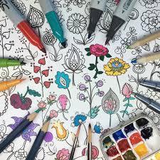 BrownPaperBunny Best Coloring Markers Pencils