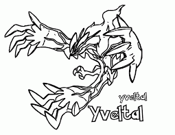 Pokemon Xy Coloring Pages Free