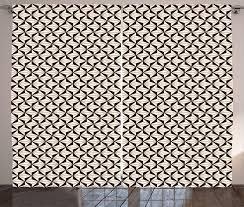 gardine schlafzimmer kräuselband vorhang mit schlaufen und haken abakuhaus braun und beige zusammenfassung moderne kaufen otto