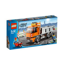 100 Lego Recycling Truck 4434 Dump Brickipedia Fandom