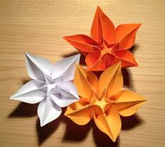 A4 Paper Origami Flower Choice Image Decoration Ideas With
