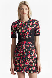 bella ottoman floral dress sale french connection usa