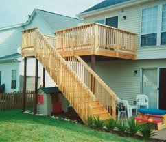 10 x 16 elevated deck building plans only at menards