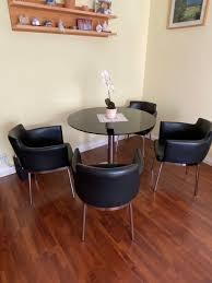 castellan italia designer tisch 4 stühle in 81739 münchen