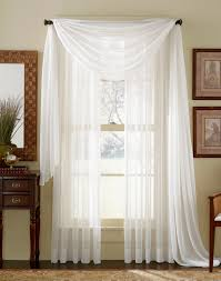 Gold And White Sheer Curtains by Elegance Sheer Curtain Voile Scarf Panels Gold Stylemaster