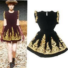 2013 New Vintage Fashion Ladies Dress2pcs Set Girls Embroidery Dressesone Piece DressFree Shipping HM3102
