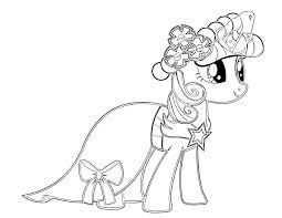 Baby My Little Pony Coloring Pages Rarity A Rainbow Dash