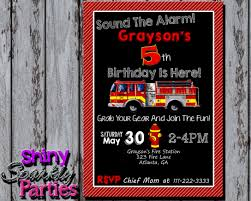 100 Fire Truck Birthday Party Invitations Amazing Amazon Com Kids For