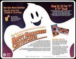 Mcdonalds Halloween Pails 2015 by Mcdonald U0027s Halloween Gift Certificates Tray Liners The Metal Misfit