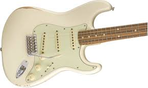 Fender Road WornR 60s StratocasterR Pau Ferro Fingerboard Olympic