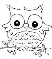 Owl Coloring Sheets Printable