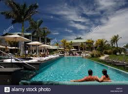 100 W Hotel Vieques Island Puerto Rico Luxury Hotel And Resort Stock