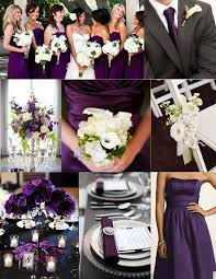 Purple Wedding Color Themes