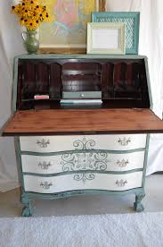 Drop Front Writing Desk by Governor Winthrop Serpentine Drop Front Desk Meets Old Fashioned