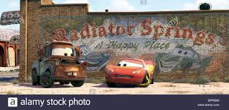 MATER THE TOW TRUCK & LIGHTNING MCQUEEN CARS (2006 Stock Photo ...