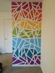 Fun And Easy Way To Get Some Color On An Accent Wall Frog Tape