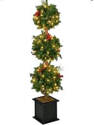 3 Feet Christmas Tree 4 Inches Artificial Topiary With Foot Trees S