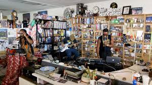 Shabazz Palaces Tiny Desk Concert for NPR