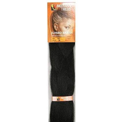 Motown Tress MJ-II Jumbo Braid Kanekalon Braiding Hair Synthetic New