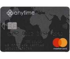 plafond debit carte visa le compte anytime avec un rib nominatif et une carte mastercard