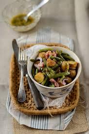 cuisiner des pommes de terre nouvelles salade de pommes de terre nouvelles et haricots verts recette