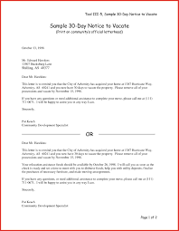 30 Day Eviction Notice Form Template California