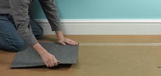 how to lay vinyl carpet tiles wickes co uk