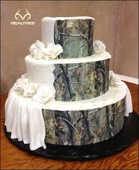 Realtree Camo Wedding Cake Elegant Classy Realtreecamo Camoweddingcake
