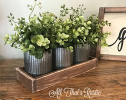 Norah Zinc Vases Rustic Metal Decor Home Table