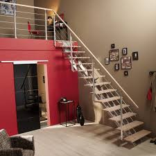 barriere escalier leroy merlin escalier droit escatwin structure aluminium marche bois leroy merlin