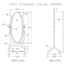 learn how to make a cheval mirror free woodworking plans at