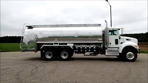 100 Tank Truck 2013 Peterbilt 348 Oilmens Fuel YouTube
