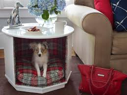 how to make a combination pet bed and end table how tos diy