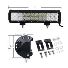 12 inch road led light bar cree led 72w 30 degree spot 60