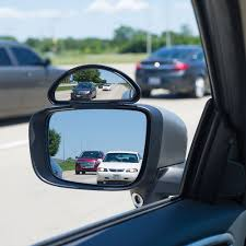 100 Side View Mirrors For Trucks The Blind Spot Eliminator Hammacher Schlemmer