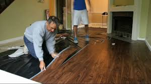 Vinyl Floor Underlayment Bathroom by Allure Flooring Installation Timelapse Youtube