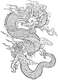 Hd Realistic Dragon Coloring Pages Images Book Adults Chinese Adult Easy Free