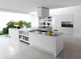 modern kitchen alluring sleek white ceramic floor tile for