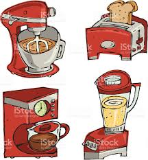 Small Kitchen Appliances Royalty Free Stock Vector Art Amp More Images