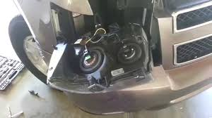 2007 2014 gm chevrolet tahoe headlight removed to change bulbs