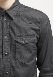 men shirts nudie jeans jonis shirt black duke nudie jeans lean
