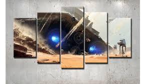 Star Wars Battle Front Destroyer Framed Canvas